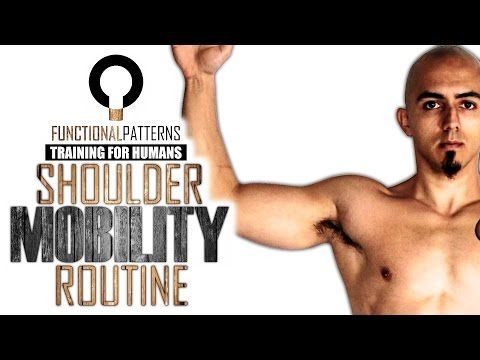 Relieving Shoulder Problems - Shoulder Mobility Routine - YouTube