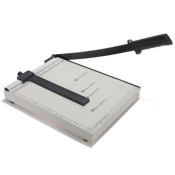 A4 a b7 papel fotográfico tamaño condensador de ajuste guillotina cortadora de metal
