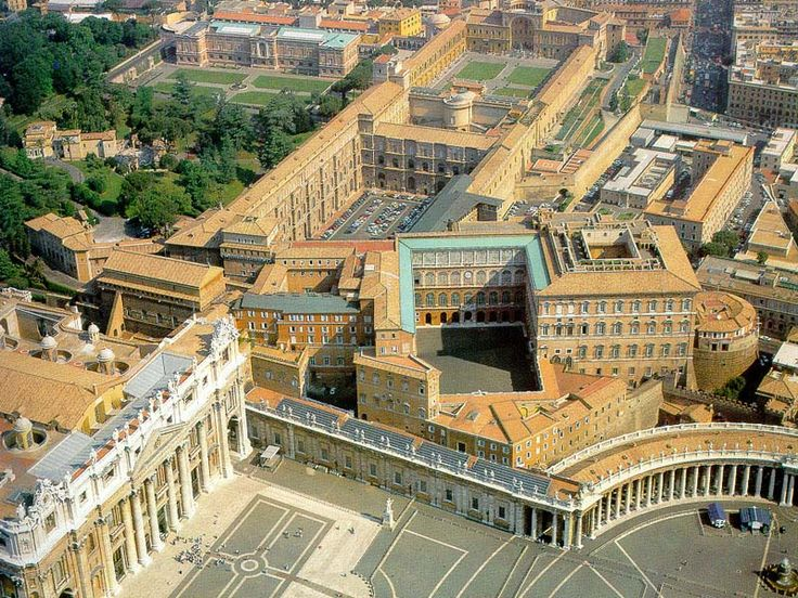 The Apostolic Palace  The Vatican, Italy