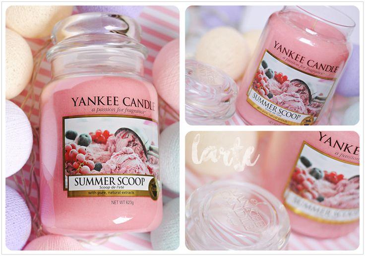 Jak to pachnie? - Yankee Candle Summer Scoop