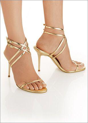 zapatillas,doradas