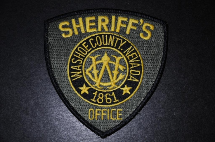 Washoe County Sheriff Patch, Nevada (Current Issue) (With