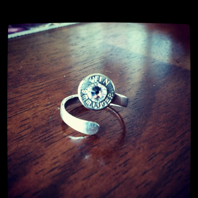 9mm bullet ring want this!!!