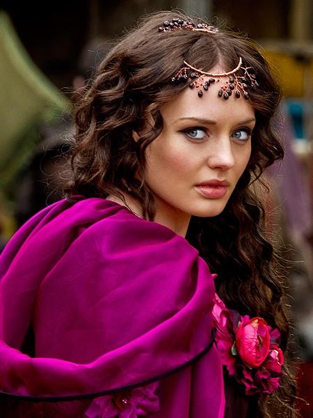 Da Vinci's Demons : Laura Haddock as Lucrezia Donati