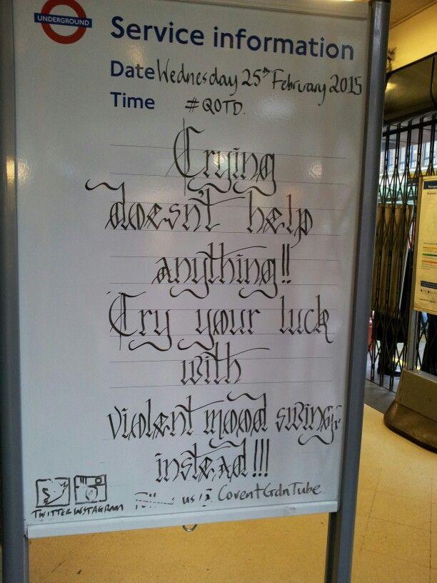 Covent Garden announcement
