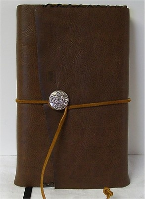 Journal Diary Planner Travel Writing, Book Leather 9X6 Handmade Brown Leather