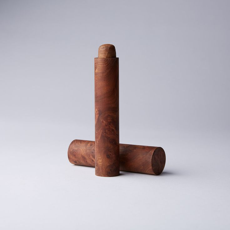 Single Cigar Tube // Carpathian Burl Wood