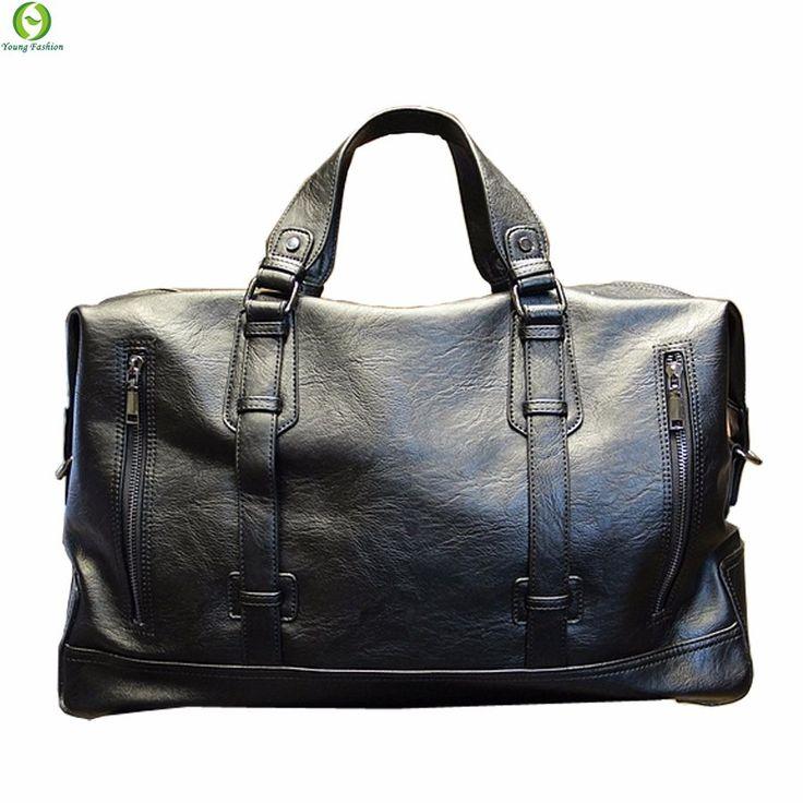 Mens Waterproof duffel Casual High-capacity leather handbag  http://mobwizard.com/product/fashion-mens-travel32585189208/