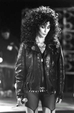 Cher News: Cher's Original '...Turn Back Time' Leather Jacket ...