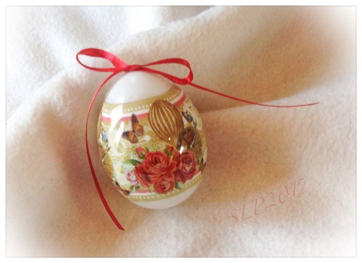 Pääsiäismunan koristelua kutistemuovilla, SLP