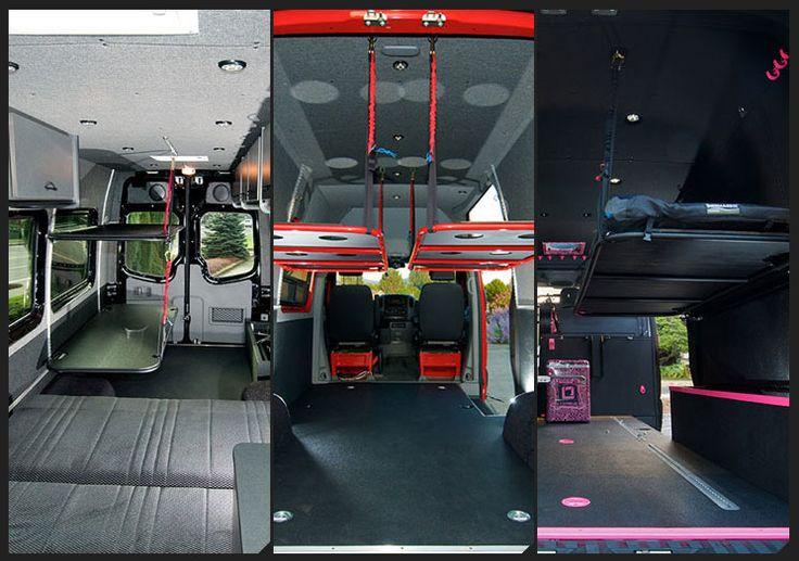 Bunk beds for a van