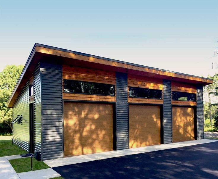 Plan 62636DJ Modern Garage Plan with 3 Bays in 2021