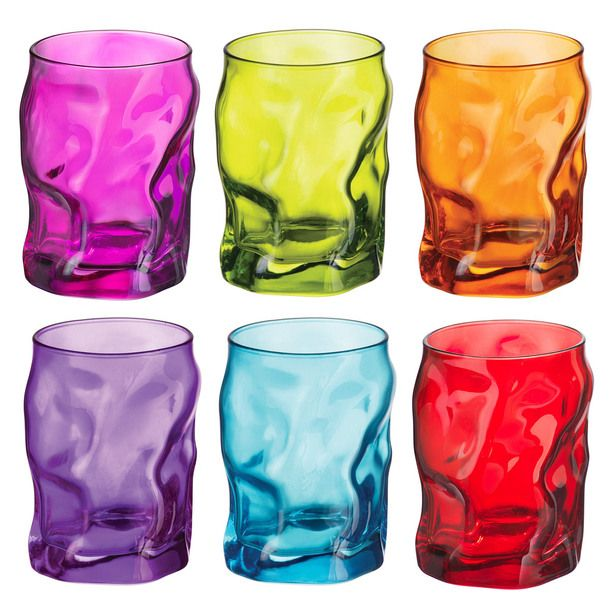 I love these colorful glasses