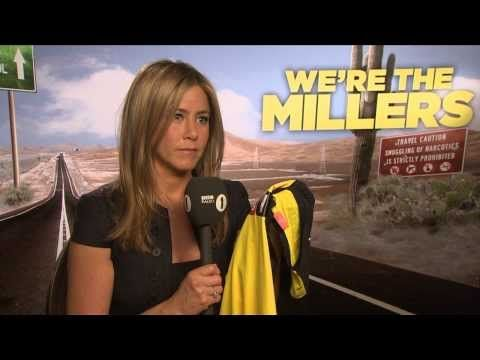 Jennifer Aniston talks to Chris Stark off the Scott Mills show on Radio 1 AWKWARD INTERVIEW!!!! Love Jen Aniston!