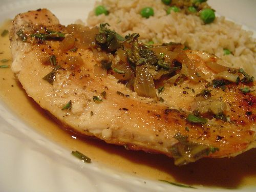 Chicken with Herbed Pan Sauce