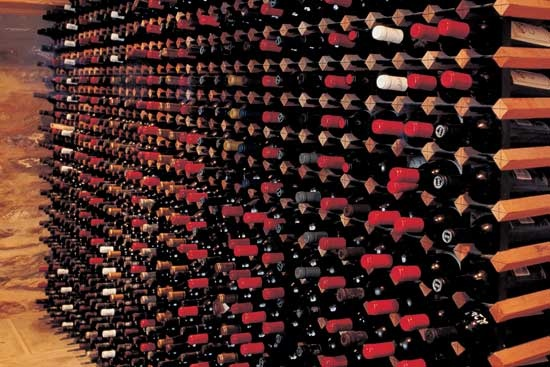 Custom wine rack project 3