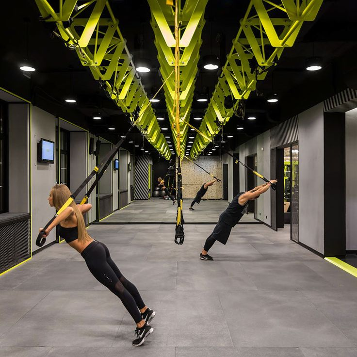Industrial Gym Design: 25+ Best Ideas About Fitness Studio On Pinterest