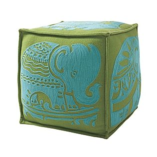 obsessed with this elephant pouf from serena and lily - wish it was still available!