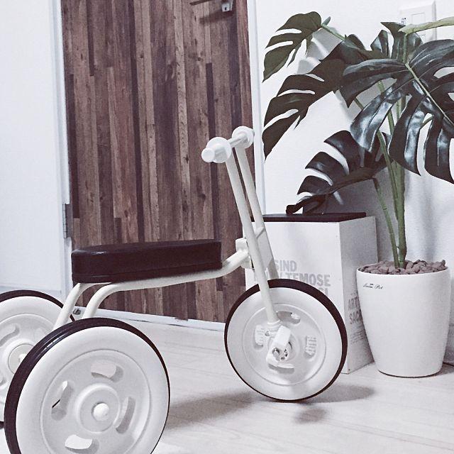 無印の三輪車がおしゃれパパやママもうれしいシンプル三輪車