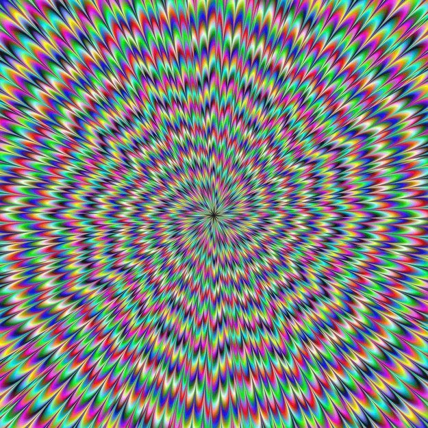 "Oh how the mind plays tricks! These are not gifs - but can you see them move? Click to see more ""10 Awesome Optical Illusions That Will Melt Your Brain"" on BuzzFeed!"