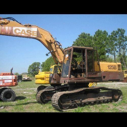 Case 125b Excavator Service Repair Manual Instant Download