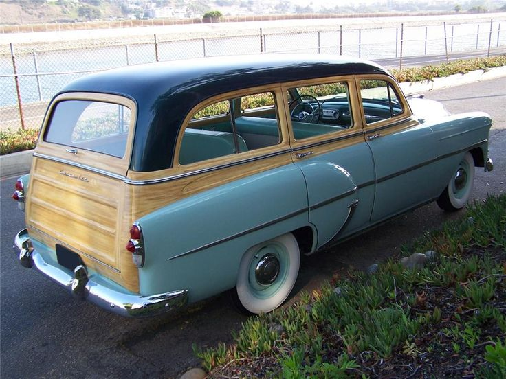 1953 CHEVROLET 210 TOWNSMAN STATION WAGON - Barrett-Jackson Auction Company