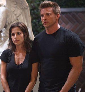 "Steve Burton and Kelly Monaco Affair   Kelly Monaco and Steve Burton star in ""General Hospital"""