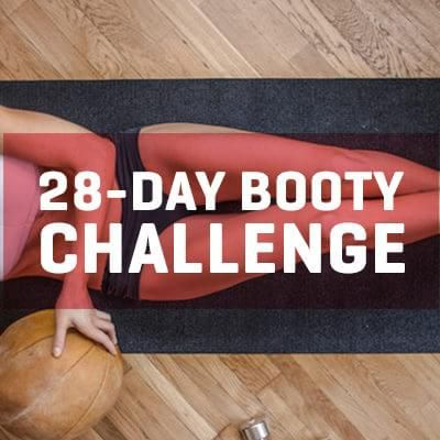 Perfectly Sculpt Your Butt With This 28-Day Booty Challenge (Photos)