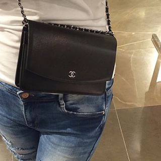Chanel wallet on a chain...Santa that's my only wish this year!