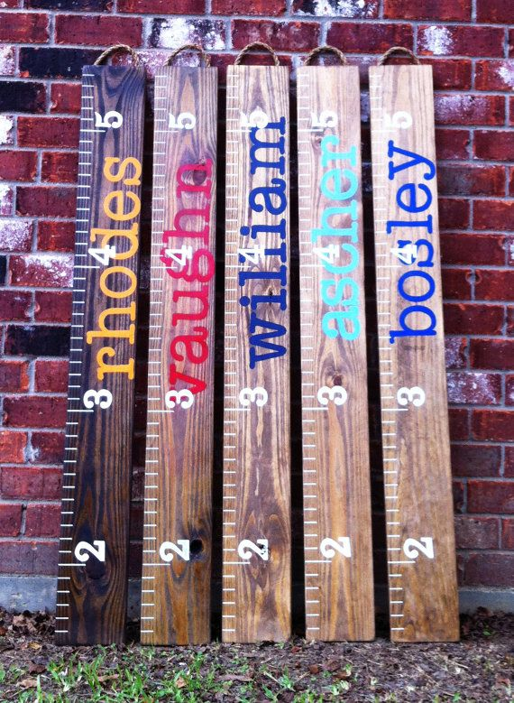 GROWTH CHART by RouxBeeLu on Etsy