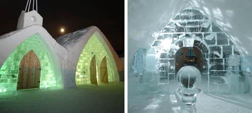 Icehotel Quebec, Quebec, Canada,  http://www.supertrips.nl/ijshotels/IJshotel_Quebec_Canada
