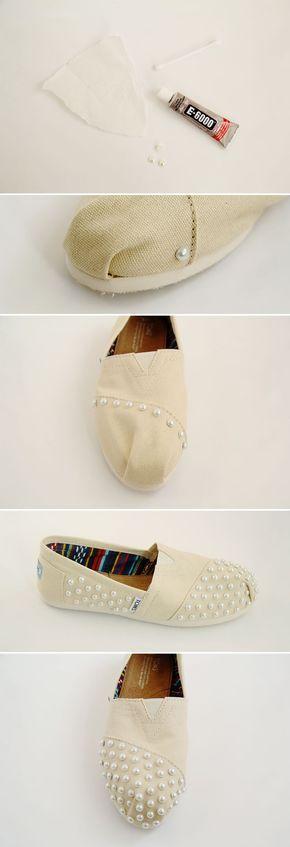 zapatos perlas