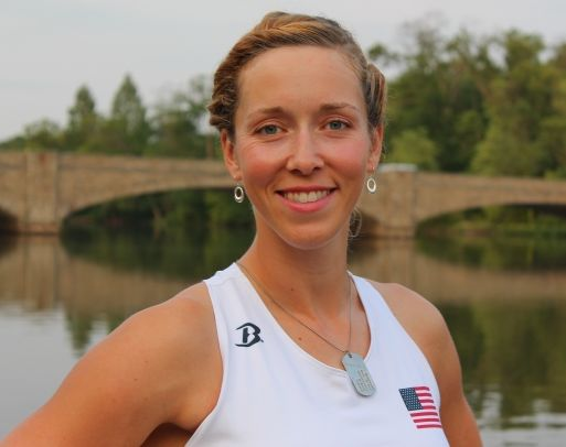 Olympic rower Megan Kalmoe eats up to 6,000 calories per day. Look inside her fridge!
