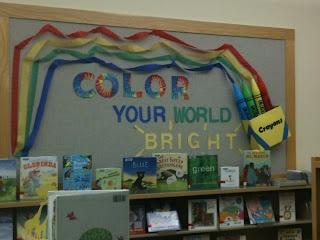 Crayon Bulletin Board!