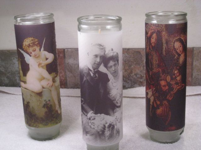 DIY Prayer Candles - Truly Unique Custom Candles - Inspired by Prayer Candles: Make Prayer Candles for Everyday Use