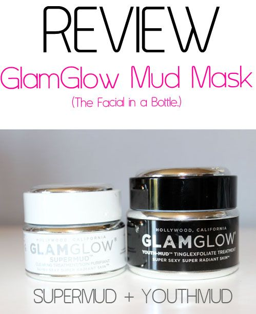 Review GlamGlow Review: GlamGlow Supermud and Youthmud Masks
