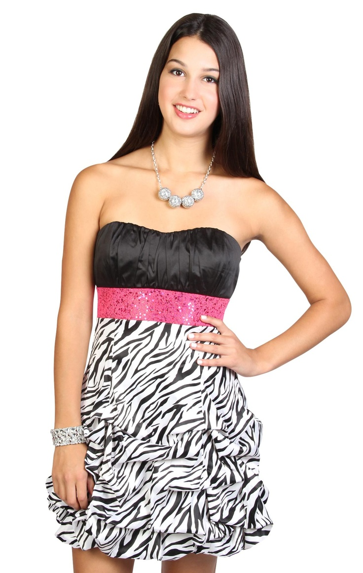 18 best images about Zebra print dresses on Pinterest | Cocktail ...