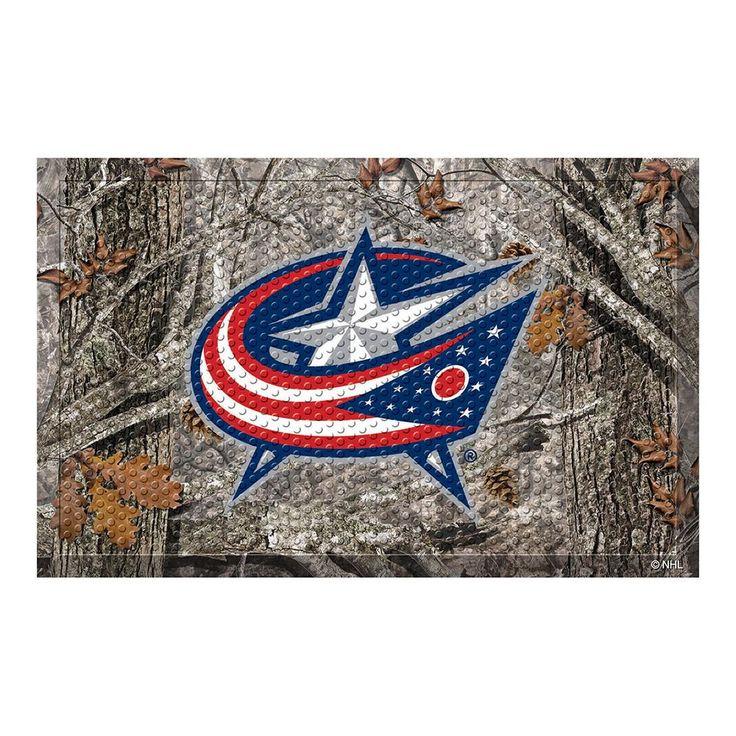 Columbus Blue Jackets NHL Scraper Doormat (19x30)