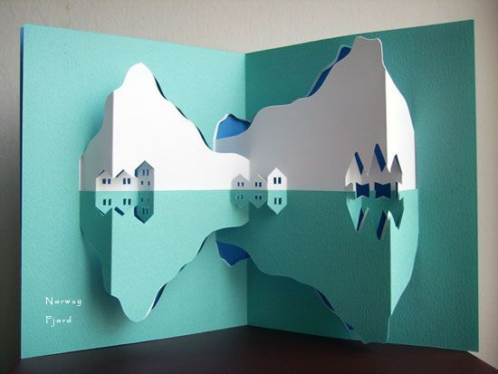pop up card: