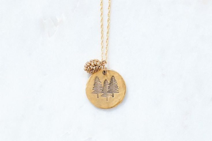 Pine Tree Necklace $42