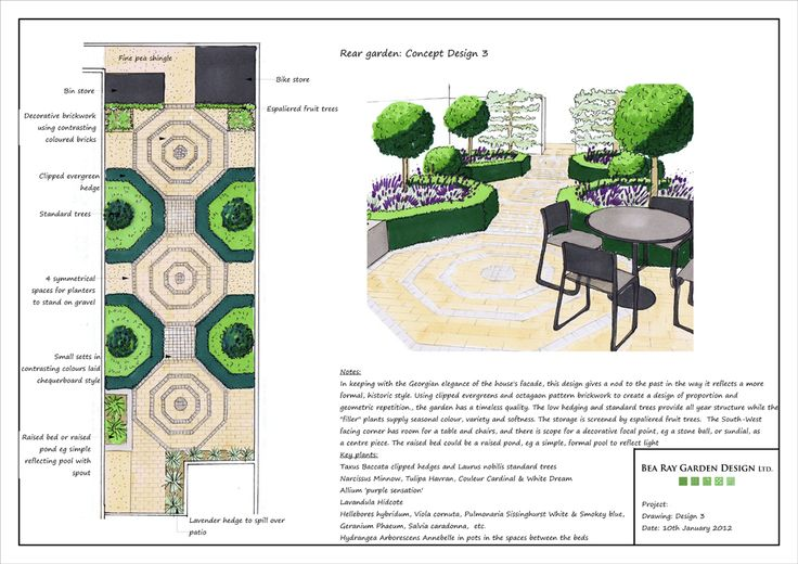 Although the client for this project has plenty of gardening experience, she wanted some fresh suggestions for what she could do with this garden. I put forward three different designs to start the...