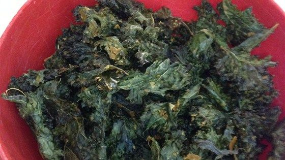 Cheesy Kale Chips nutritional yeast instead of cheese