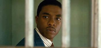 Chadwick Boseman as Thurgood Marshall in First # Marshall #Movies #boseman #chadwick #first #marshall