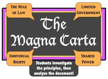 magna carta for teachers If the 800 years since magna carta have taught us anything, it is that when the lessons of history are learned by the young, then the mistakes of history are less.