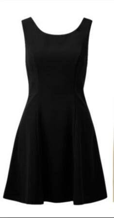 Vestido negro basico que no debe faltar en nuestro closet