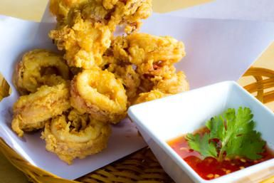 Thai Fried Squid (Calamari) - D.Schmidt for About.com