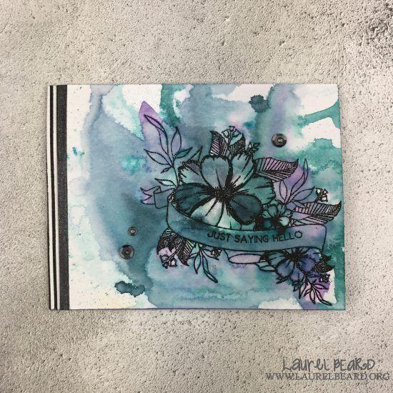 *Video* Custom Stationary and envelope set:The Ton's Spring 2017 Release Blog Hop - Paper Crafts by Laurel