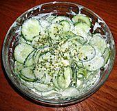 Gurkensalat (Rezept mit Bild) von clubschiff   Chefkoch.de