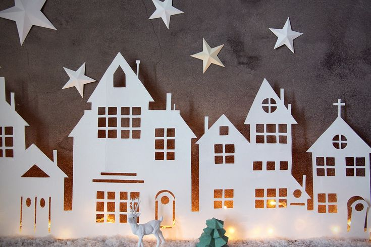 Aux petites merveilles: DIY :: VILLAGE LUMINEUX DE NOËL is creative inspiration for us. Get more photo about related with by looking at photos gallery at the bottom of this page. We are want to say thanks if you like to share this post to another people via your facebook, …