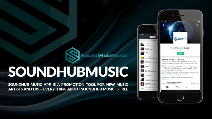 SOUND HUB MUSIC APP SOUND-HUB-MUSIC-APP-MUSIC-ITS-FREE  SoundHub Music App is a promotion tool for new music artists and DJs – Everything about SoundHub Music is free